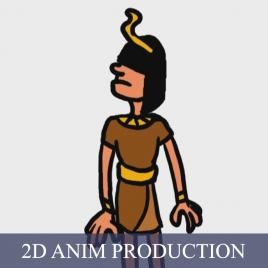 2D Animation Production