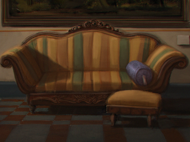 Ethan Hunsaker Couch Digital Painting